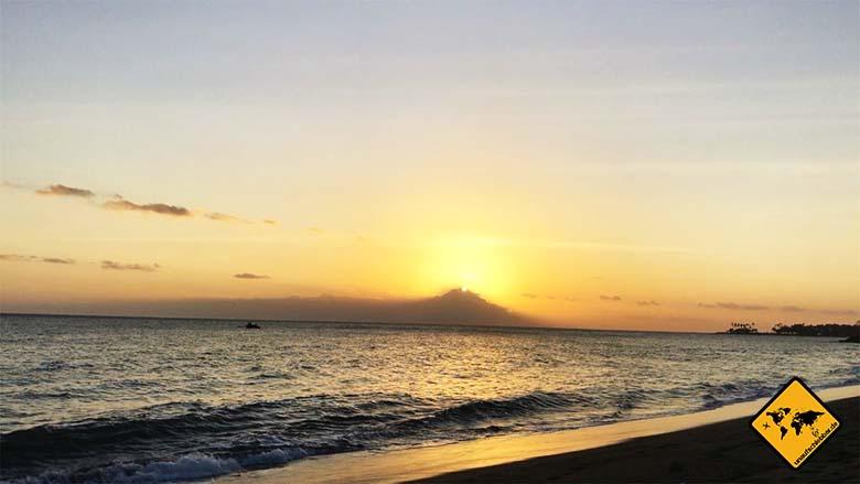 Senggigi Lombok Beach Sonnenuntergang