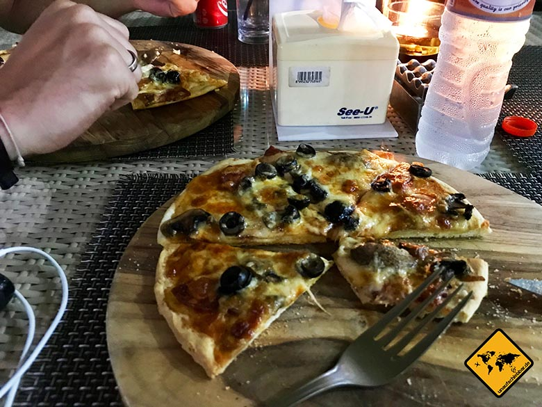 Senggigi Restaurants Pizza