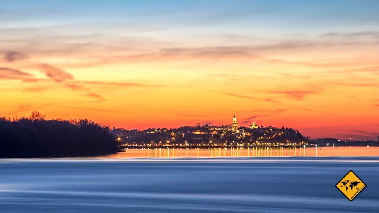 Serbien Belgrad Donau