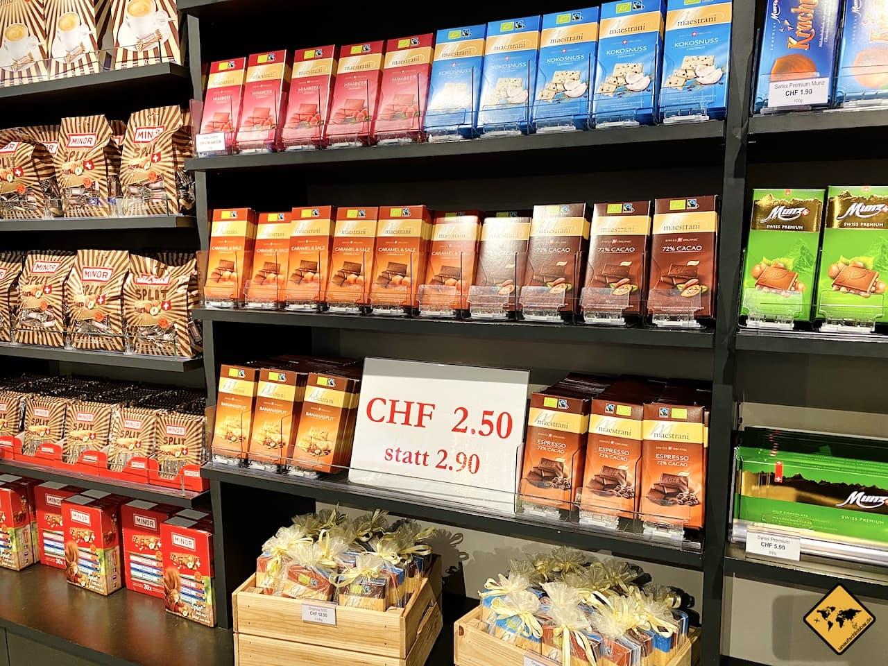 Shop Schokoladen Verkauf