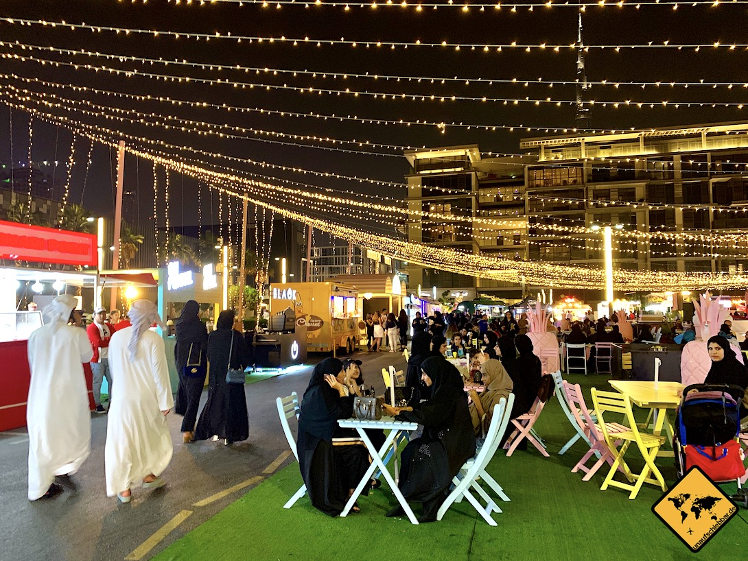 Shopping Festival Outdoor Markt Dubai