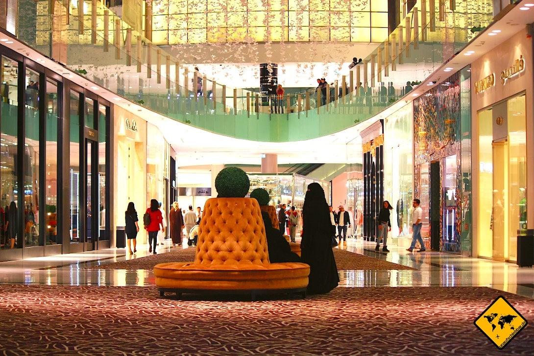 Shopping in Dubai Malls