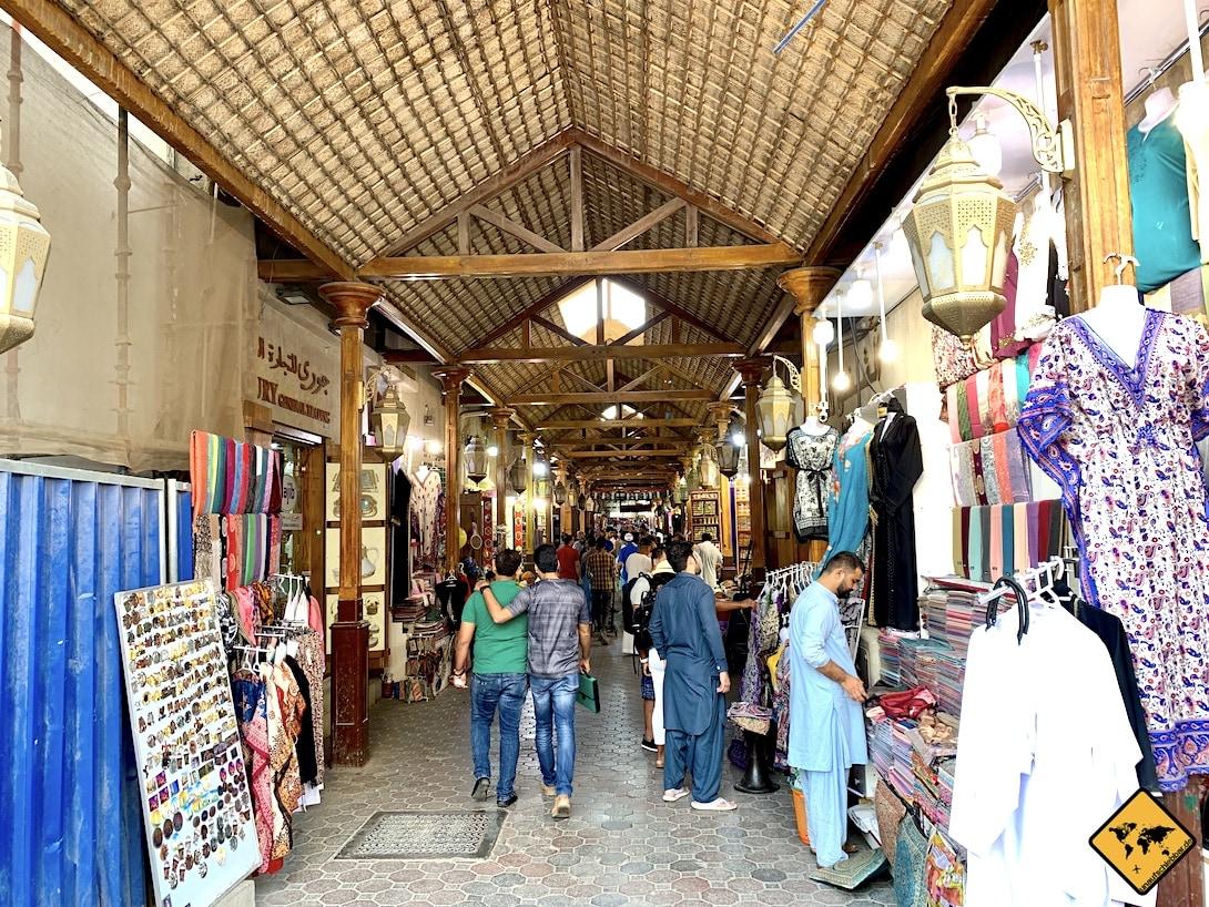 Shopping in Dubai Souk