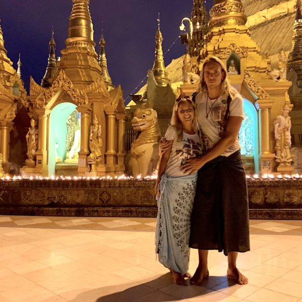 Shwedagon Pagode Sarongs