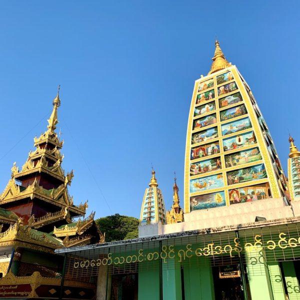 Shwedagon Pagode Tempel Buddha-Bilder