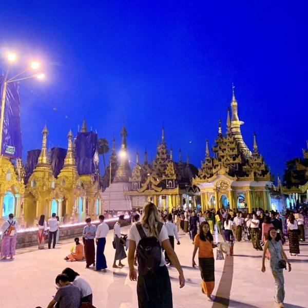 Shwedagon Pagode Yangon Besuchszeit