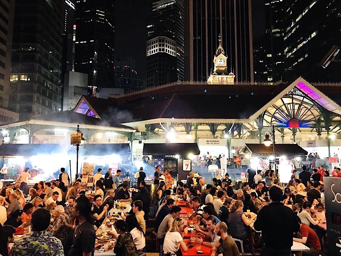Singapur Highlights Hawker Center