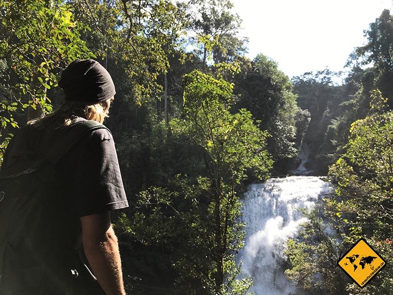 Sirithan Waterfall Ausblick