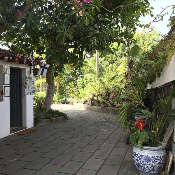 Sitio Litre Garten Puerto Cruz Eingang