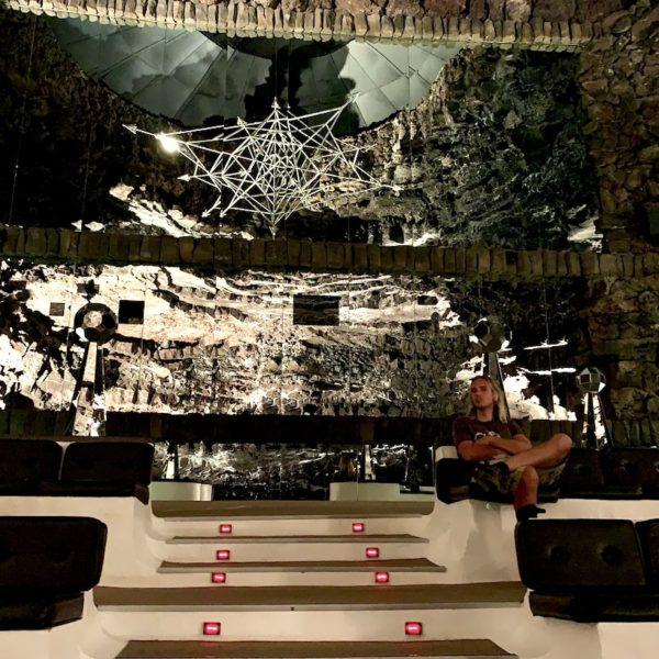 Sitze Konzertsaal Jameos del Agua Lanzarote