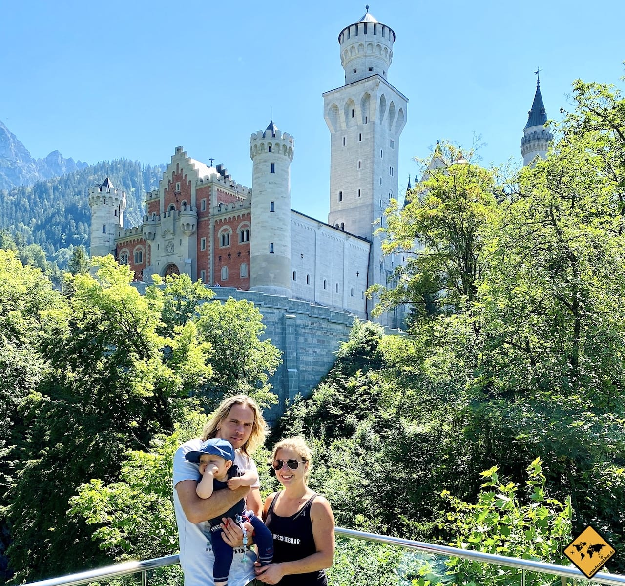 Skywalk Schloss Neuschwanstein
