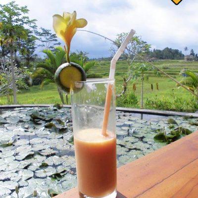 Smoothie im Karsa Kafe Ubud
