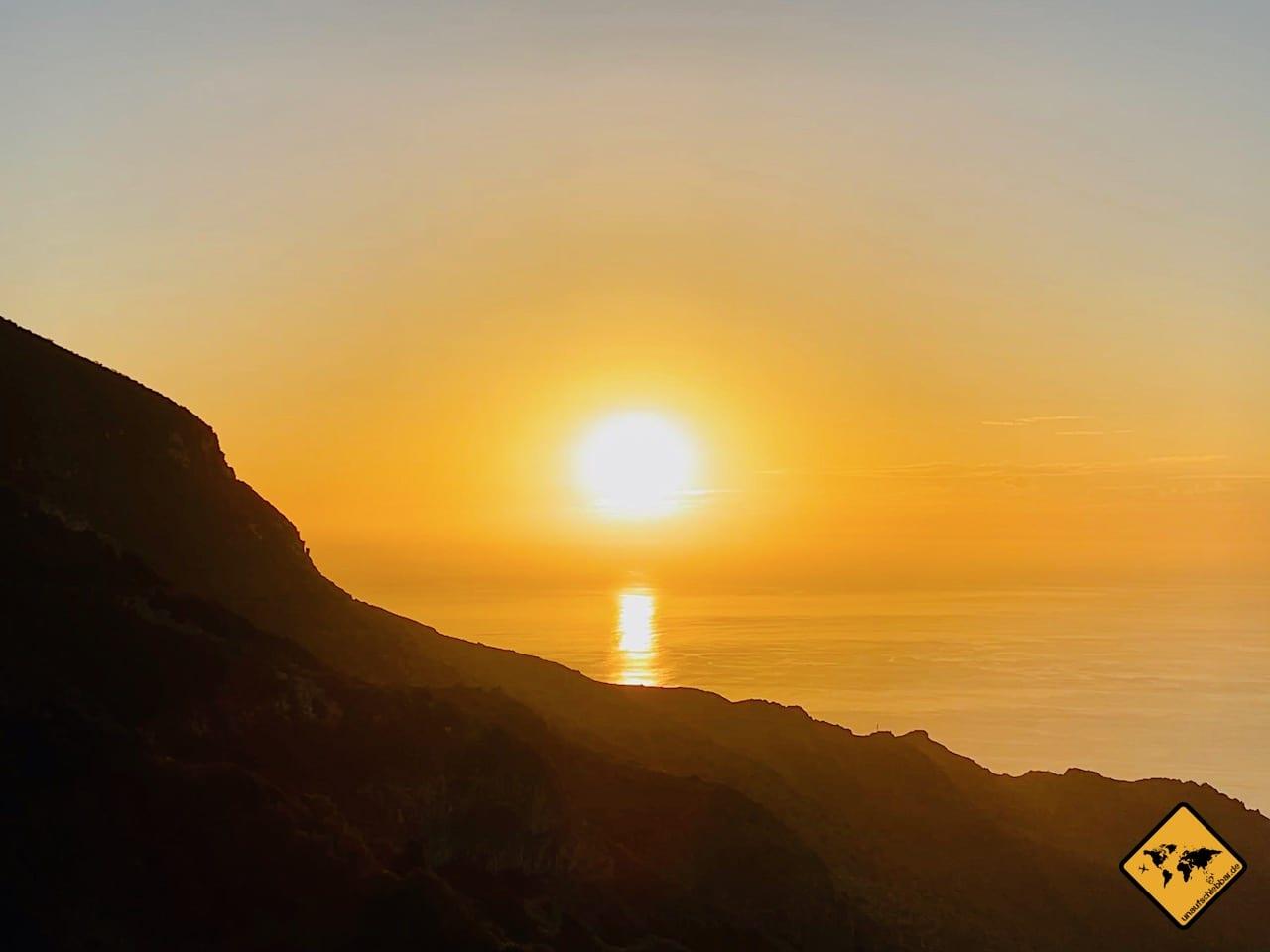 Sonnenuntergang Arguamul