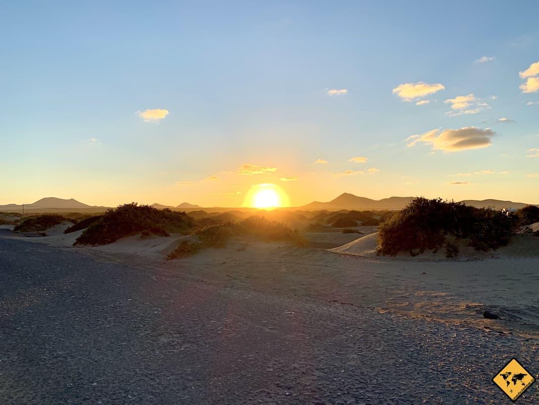 Sonnenuntergang Caleta de Famara Lanzarote