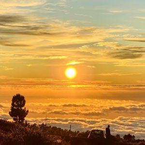 Sonnenuntergang La Palma iPhone Foto