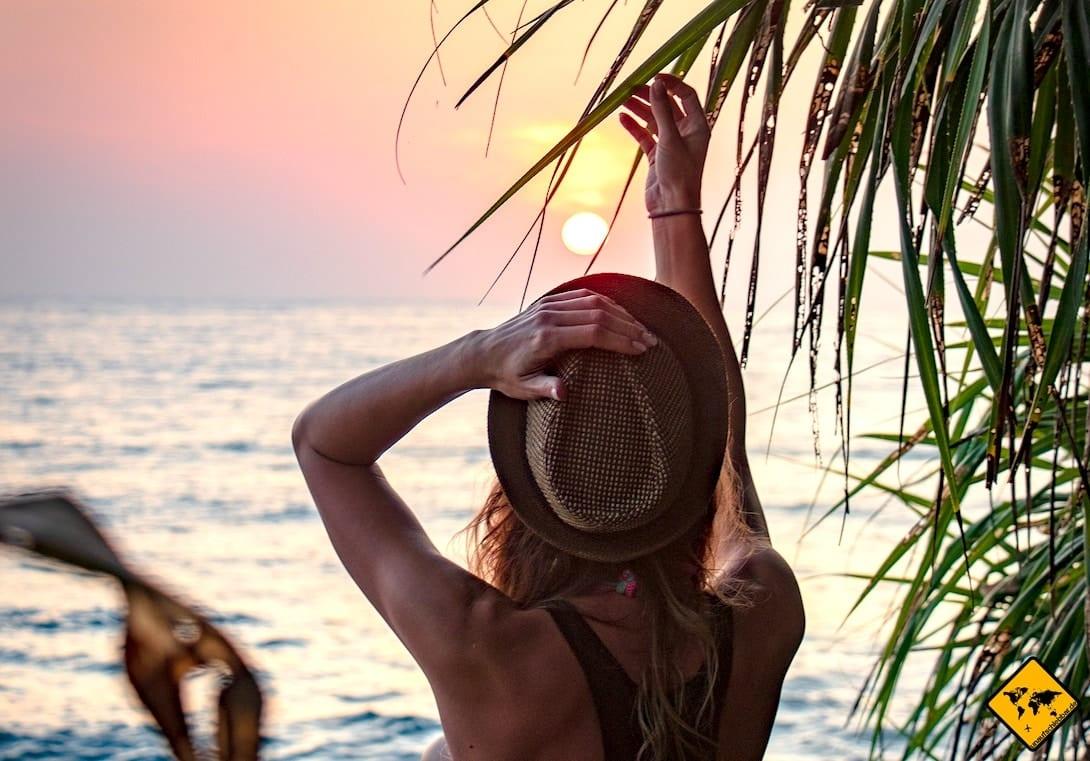 Sonnenuntergang Meer Sri Lanka
