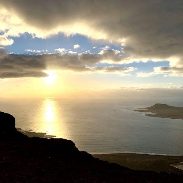 Sonnenuntergang Mirador del Río Lanzarote
