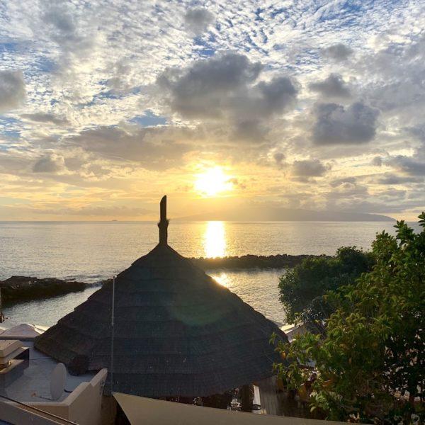Sonnenuntergang Playa Abama Teneriffa