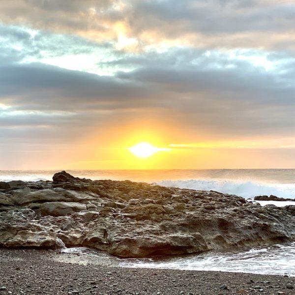 Sonnenuntergang Playa del Valle