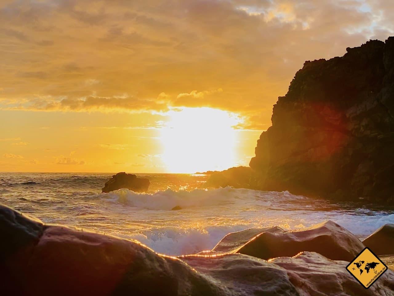 Sonnenuntergang Playa del Verodal