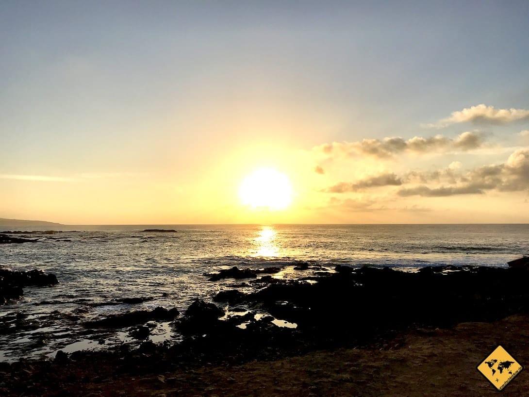 Sonnenuntergang Punta del Hidalgo