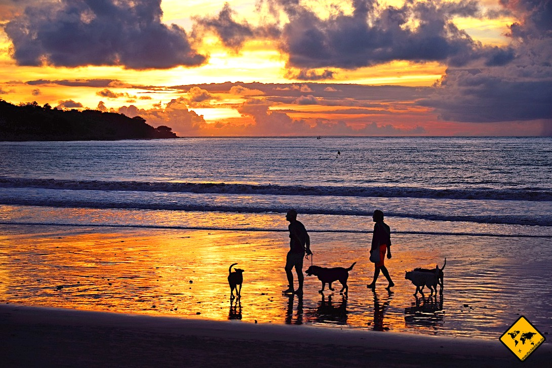 Sonnenuntergang Strand Jimbaran Bali