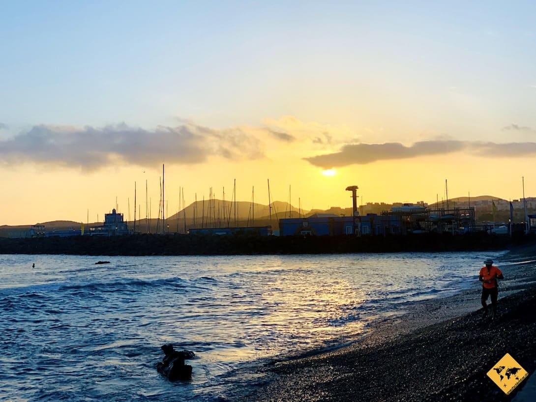 Sonnenuntergang Teneriffa Las Galletas