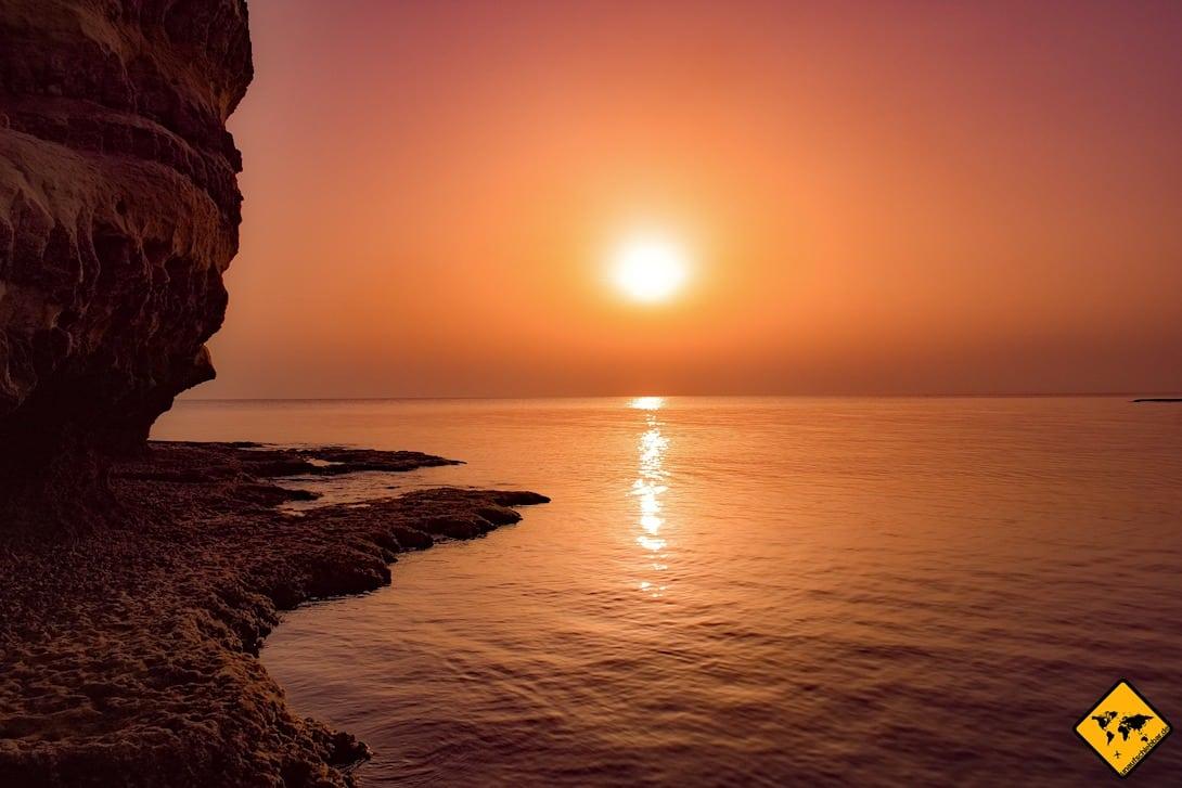 Sonnenuntergang Teneriffa Los Gigantes