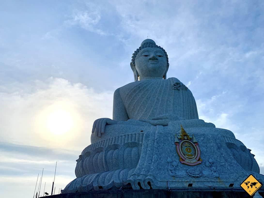 Sonnenuntergang hinter Big Buddha