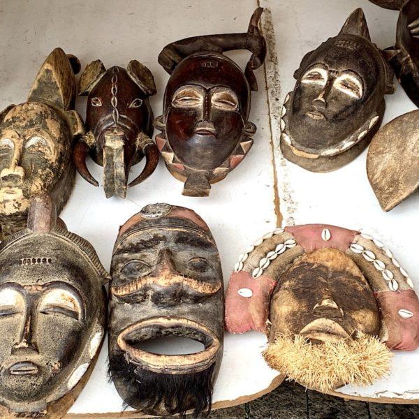 Sonntagsmarkt Teguise Masken