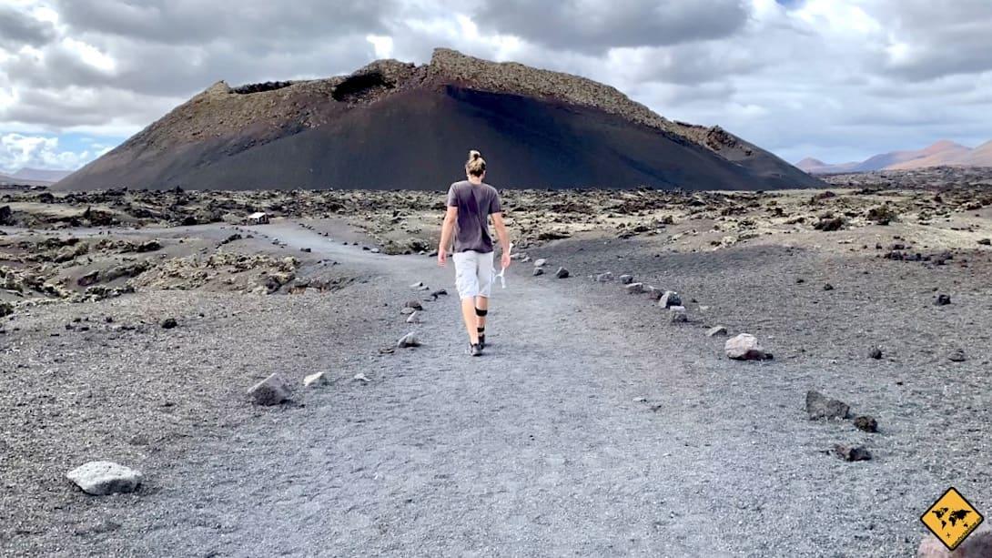 Spannende Orte auf Lanzarote Volcán El Cuervo