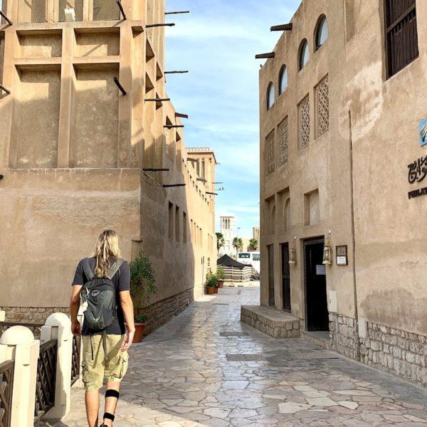 Spaziergang Bastakaya Viertel
