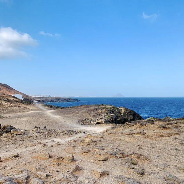 Spaziergang Küste Teneriffa Süd