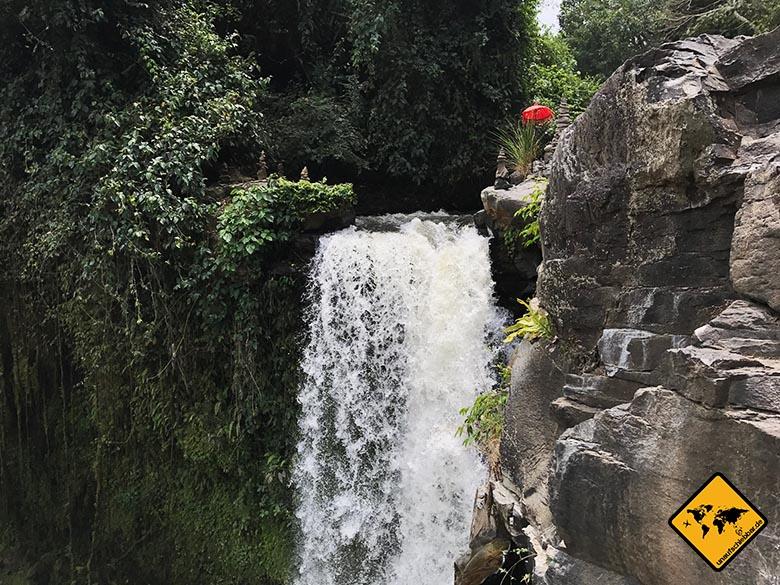 Spitze Tegenungan Wasserfall