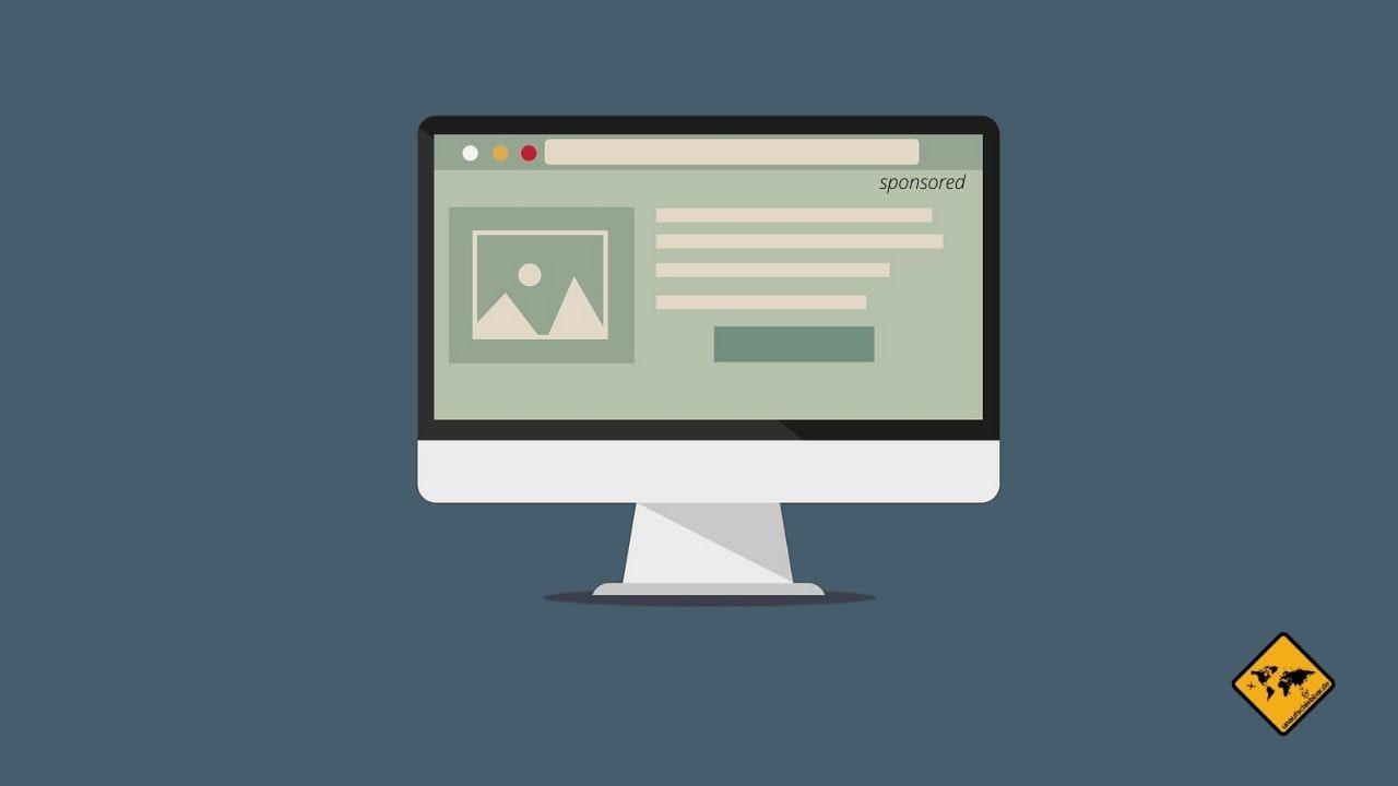 Sponsored Post bezahlte Werbung Internet Geld verdienen