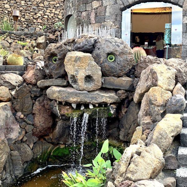 Springbrunnen Jardín de Cactus Lanzarote