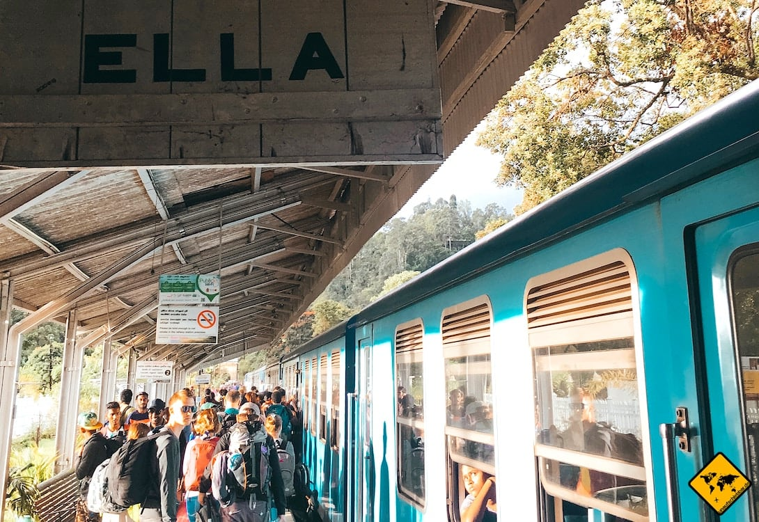 Sri Lanka Bahnhof Ella