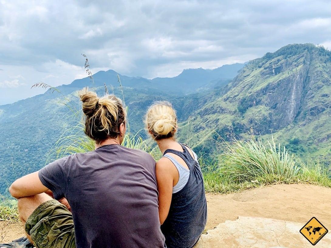 Sri Lanka Ella Little Adam's Peak Ausblick