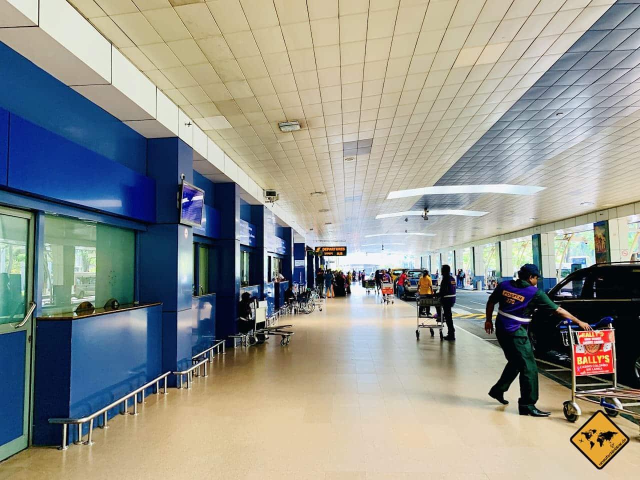 Sri Lanka Flughafen Colombo Einreise Corona