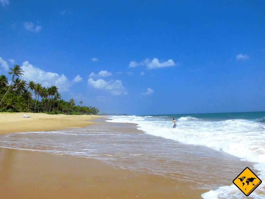 Sri Lanka Strand Tangalle Wellen