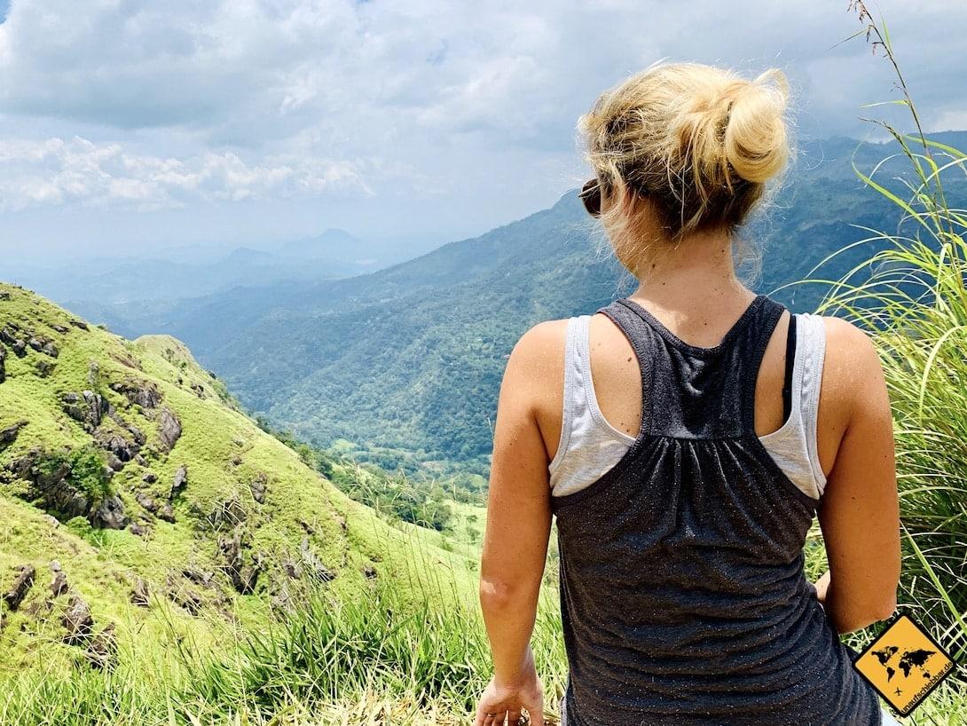 Sri Lanka Urlaub gefährlich Frau alleine reisen