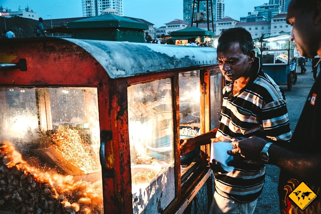 Sri Lanka Urlaub gefährlich Lebensmittel Unreinheiten