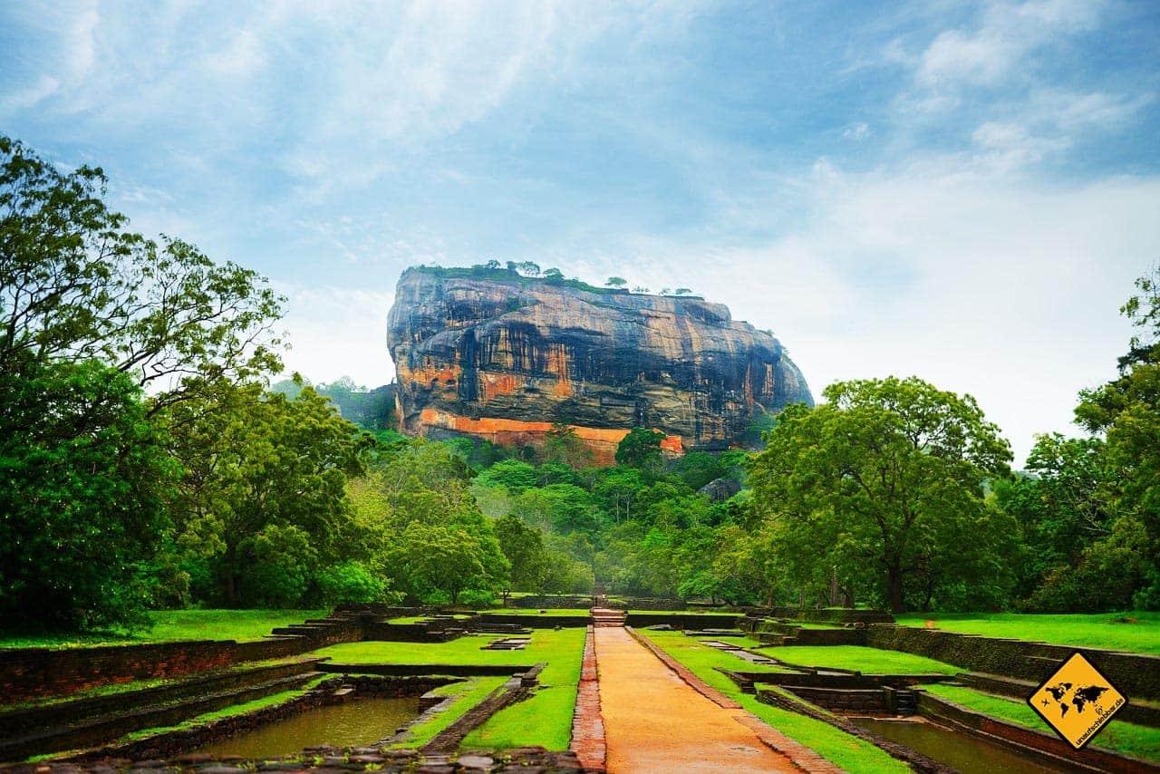 Sri Lanka Visum beantragen Berg