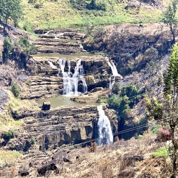 St. Clairs Falls Hatton Sri Lanka
