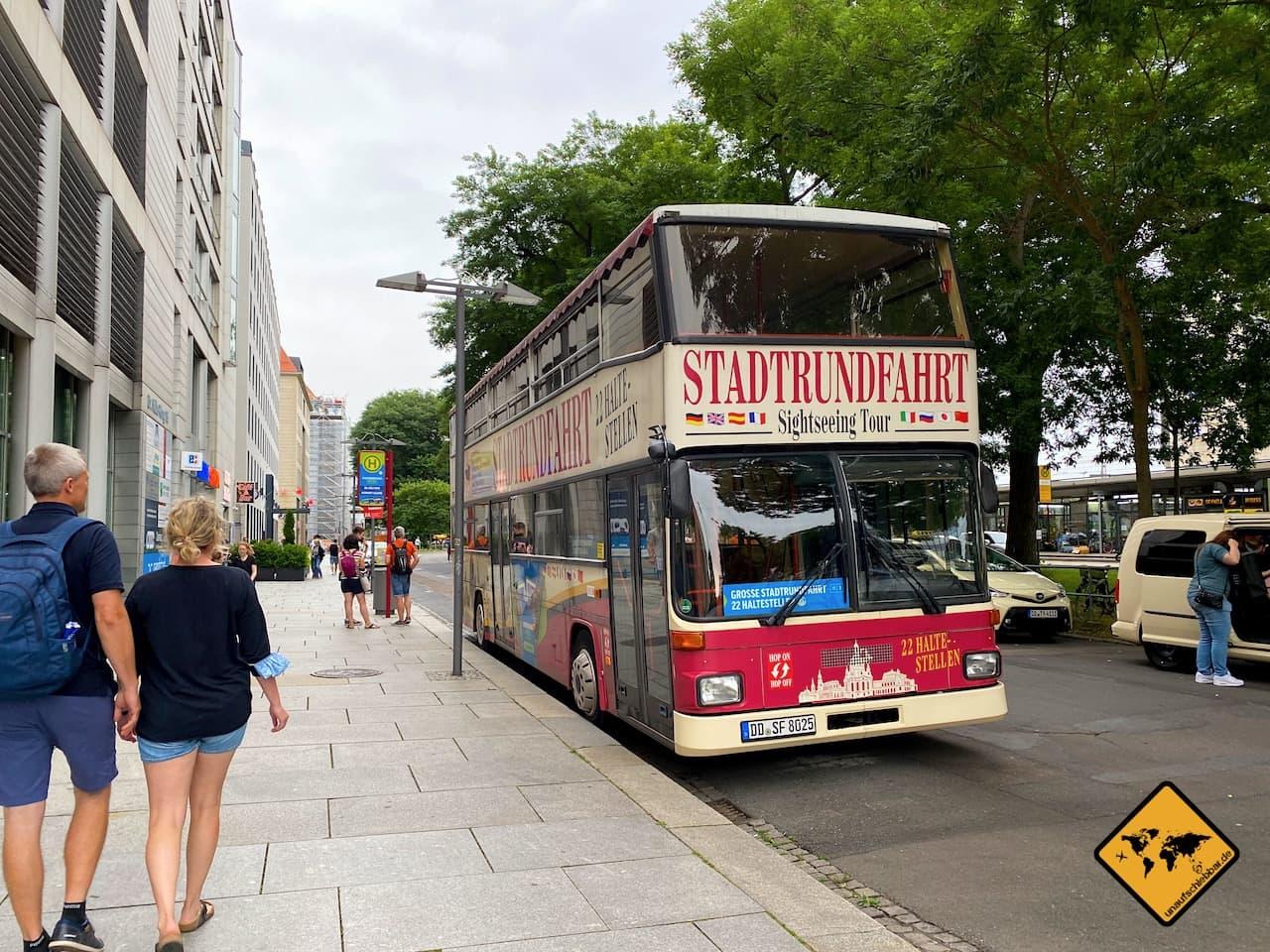 Stadtrundfahrt Dresden Hop-on Hop-off Bus