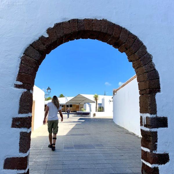 Stadttor Teguise Lanzarote