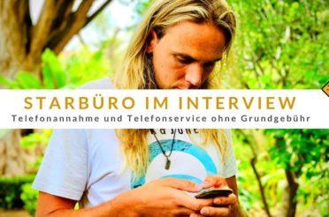 Starbüro im Interview: Telefonannahme und Telefonservice ohne Grundgebühr
