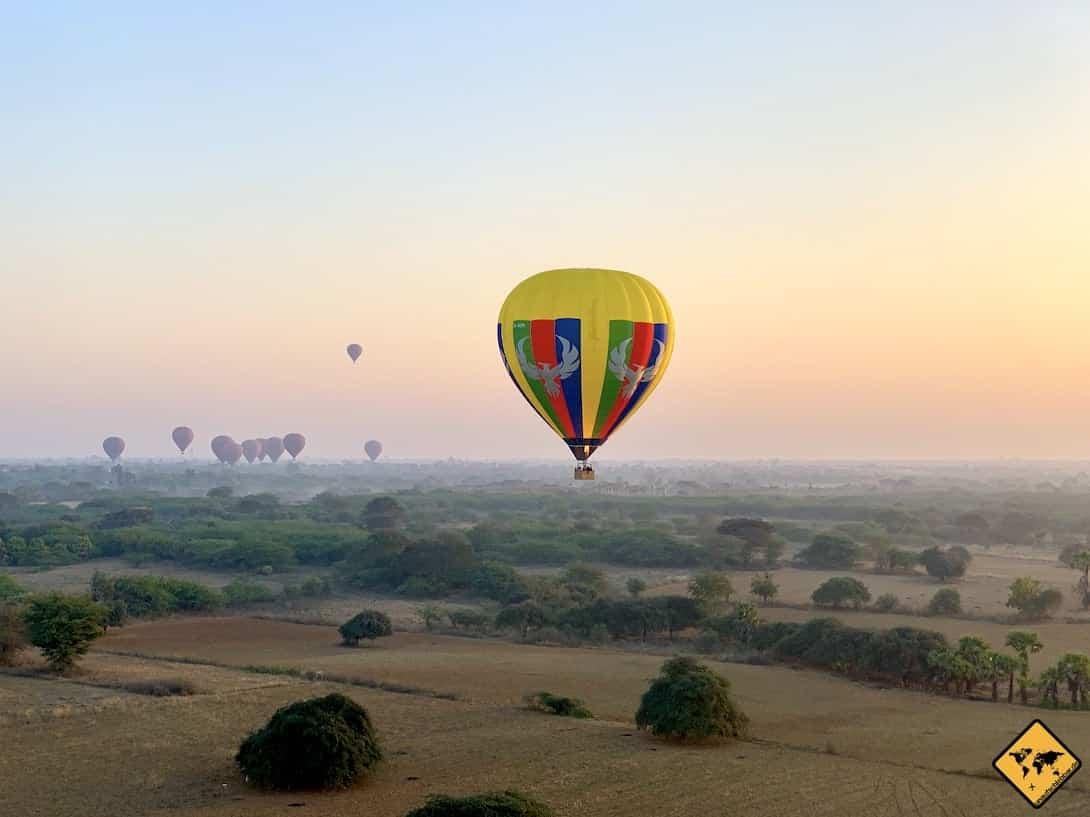 Start Ballon Bagan
