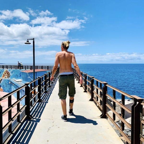 Steg Hafen Los Cristianos
