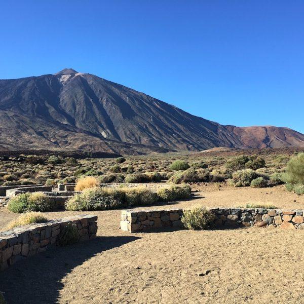 Steinkreise Teide Nationalpark Mirador Llano de Ucanca